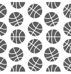 BasketBall seamless pattern for boy Sports balls vector