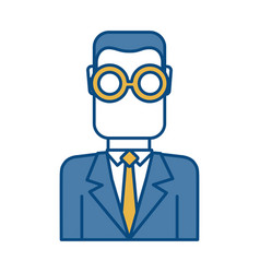 Businessman icon image vector