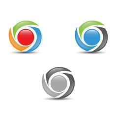 circle design vector image