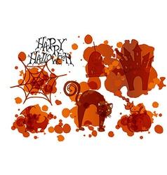 Happy Halloween Party Poster vector