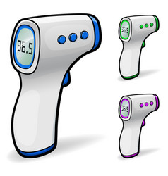 Infrared non-contact thermometer vector