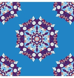 Mandala endless Ethnic seamless ornament vector image
