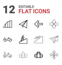 Move icons vector