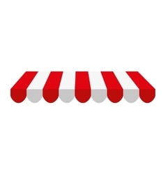 Parasol store shop icon vector