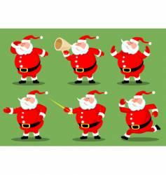 Santa's collection vector