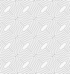 Slim gray diagonal marrakesh grid vector