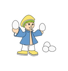 Egg-Vendor-380x400 vector image vector image