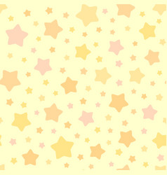 Chaotic stars pattern background vector