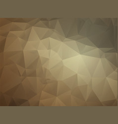abstract geometric triangular light brown leather vector image