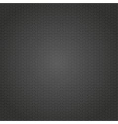 Black Mosaic Tile Honeycomb Background vector image