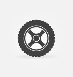 car rim icon or design element vector image