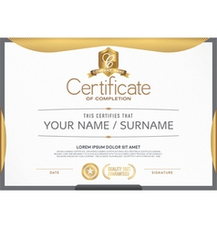 Certificate A beautiful clean vector image