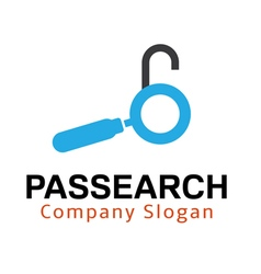Passearch Design vector image