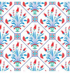 Traditional ottoman motif vector
