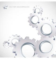 Gear background vector