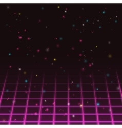 Old video game background vector