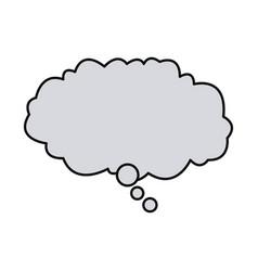 bubble speech dialog talk comic design vector image