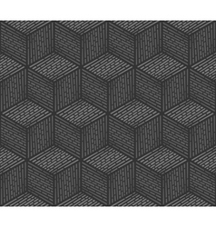 Seamless background design consisting of cubes vector image vector image