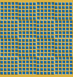 checkered background with optical vector image vector image