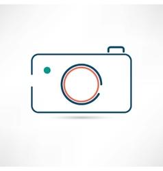 digital camera icon vector image