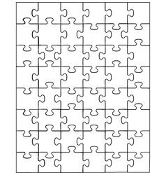 Puzzle vector