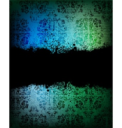 ornamented background vector image