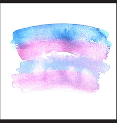 Grunge abstract background brush paint watercolor vector