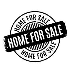 Home for sale rubber stamp vector