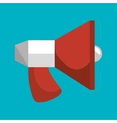 megaphone social media isolated icon design vector image