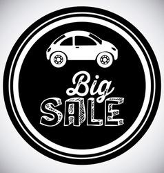 Sale Car Design vector