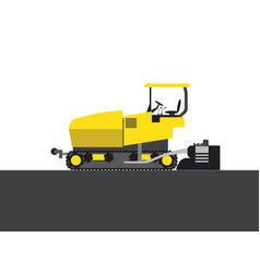 Steam roller picture vector
