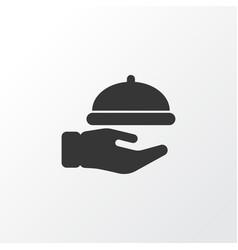 Waiter icon symbol premium quality isolated vector