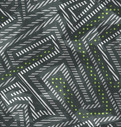 industrial seamless pattern with grunge effect vector image