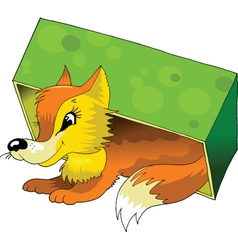 Sick animals vector image