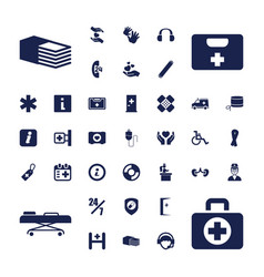 37 help icons vector