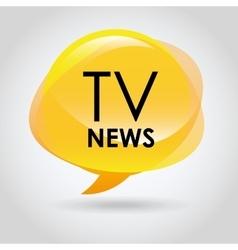 breaking news vector image