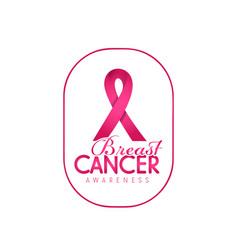 Breast cancer awareness banner 10 vector