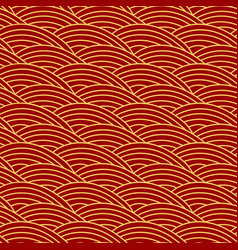 chinese traditional seamless pattern oriental vector image