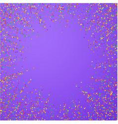 festive confetti celebration stars colorful conf vector image