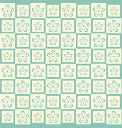 Flower seamless pattern background texture for vector