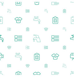 graphics icons pattern seamless white background vector image