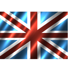 Great britain national flag background vector
