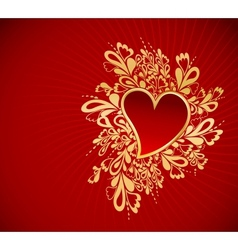 Heart To The StValentine vector image