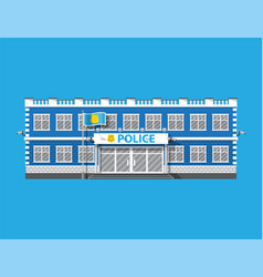 police station icon eps 10 format vector image