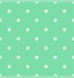 seamless art pattern with snowflakes on blue vector image