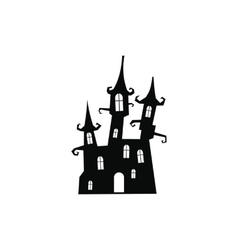 Dream castle icon vector image