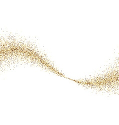 Background with golden sand vector