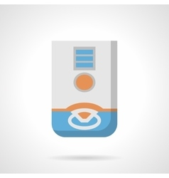 Domestic dehumidifier flat color icon vector image