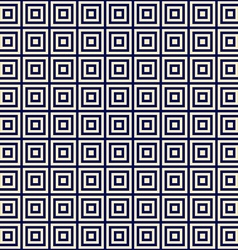 Golden square on a blue background endless pattern vector