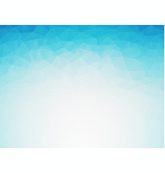 Light blue winter background grain low poly vector